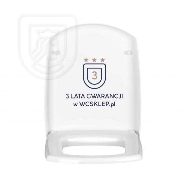 Deska sedesowa WC Carina do Cersanit wolnoopadająca 3lata gwarancji