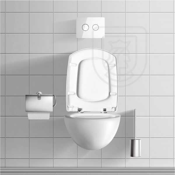 Deska sedesowa WC Carina do Cersanit wolnoopadająca