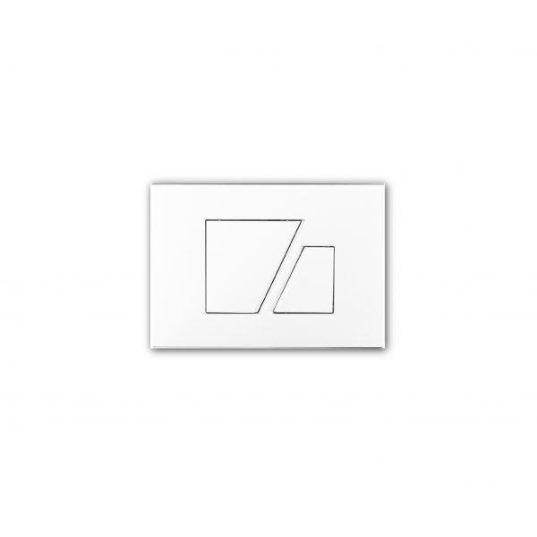 Przycisk spłukujący Sanit S707 Biały