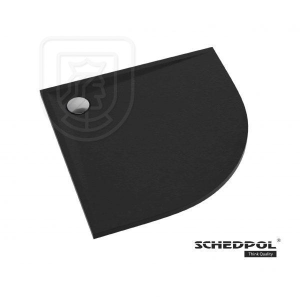 Brodzik Schedpol Libra Black Stone